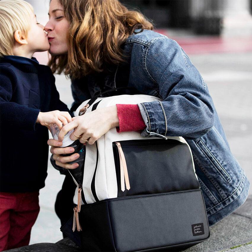 mochila maternal